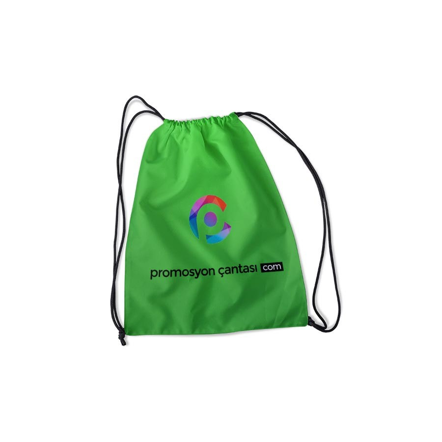 İpli Büzgülü Çanta Yeşil